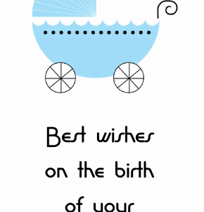 baby boy ecard